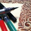 Caneta Color Brush Pentel
