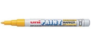 Caneta PX21 Uni Paint Amarela