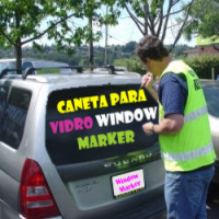 Caneta Marcador Window Marker