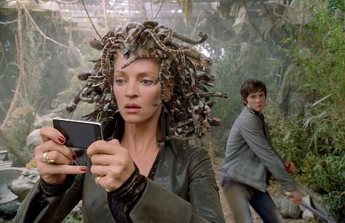 Medusa na adaptação cinematográfica do livro Percy Jackson e o Ladrão de Raios, escrito por Rick Riordan.