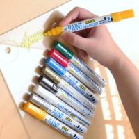 Caneta Branca Para Escrever em Pneu Paint Marker