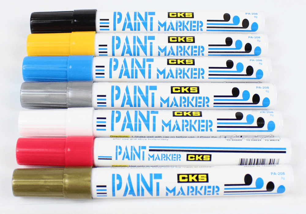 Caneta marcador industrial cks