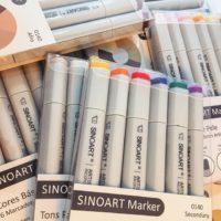 Marcador Artístico Sinoart Marker
